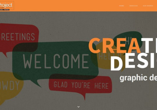 Creative Design Justhink project